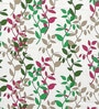 Multicolour Satin Leaf Door Curtain - Set of 2 by Cortina