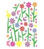Vinyl Colourful Flowers Wall Sticker by Cortina