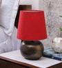 Courtyard Amber Red Lamp Shade