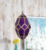 Rombus Gold Purple String Light House by Courtyard
