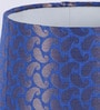 Swarsitar Blue Paisley Lamp Shade by Courtyard