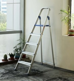 Crust Blue Aluminium 5 Steps 5.7 Ft Ladder