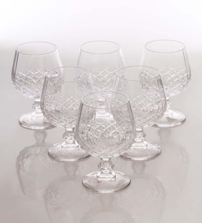 Cristal Darques Verres.Cristal D Arques Verres A Cognac 320 Ml Whisky Glass Set Of 6