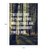 Paper 12 x 18 Inch Plant a Tree Unframed Poster by Crude Area
