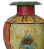 Dharithri Vase in Multicolour by Mudramark