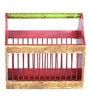 Deodar Stationery Holder in Multicolour by Mudramark
