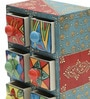 Amit Collectible with 6 Drawers in Multicolour by Mudramark