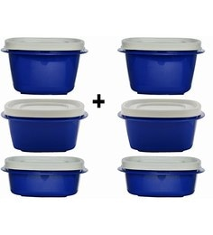 Cutting Edge Snap Tight Microwave Safe Air Tight Containers - Set Of 6 - 1621107