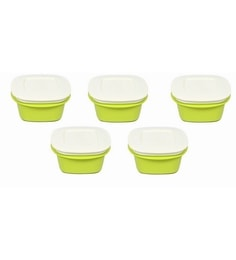 Cutting Edge Veggie Fresh Microwave 500 ML Refrigerator Containers - Set Of 5