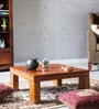 Trego Coffee Table in Honey Oak Finish by Woodsworth