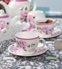 Dandy Lines Crown 25009 Bone China Tea Set - Set of 15