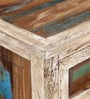 Dave Solid Wood Bar Cabinet in Distress Finish by Bohemiana
