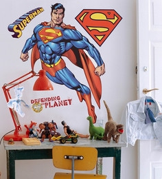 Decofun Vinyl Wall Superman Maxi Sticker Wall Sticker