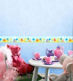 Decofun Vinyl Walls Pooh & Friends Border Wall Stickers