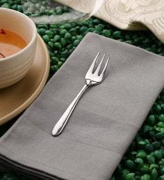 Sanjeev Kapoor Delton Tea Forks Silver Premium Stainless Steel - Set Of 6