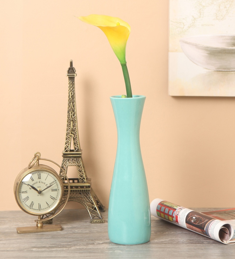 Green Ceramic Vase by Decardo