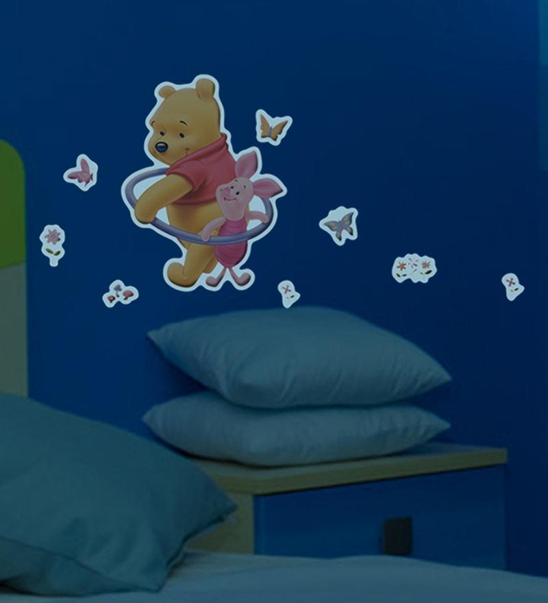 Foam Pooh & Friends 3D Glow Wall Decor by Decofun