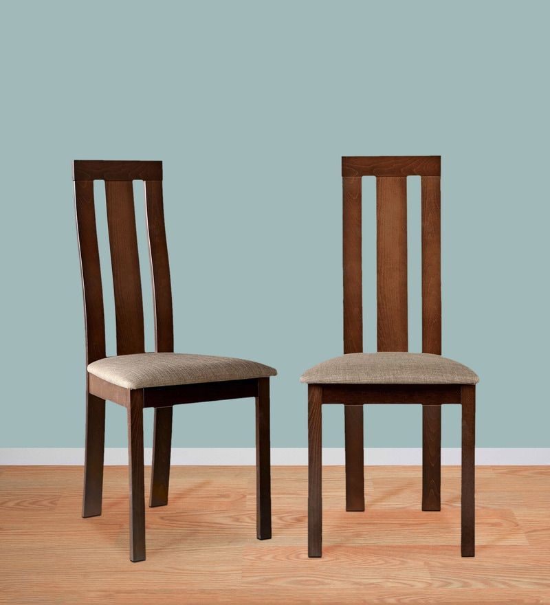 Delton Dining Chair (Set of 2) in Walnut Finish by HomeTown