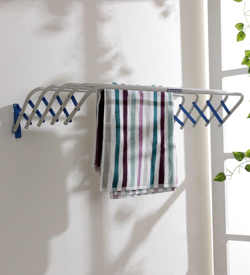 Deneb Tulip Iron Blue Clothes Dryer Medium 80 cm