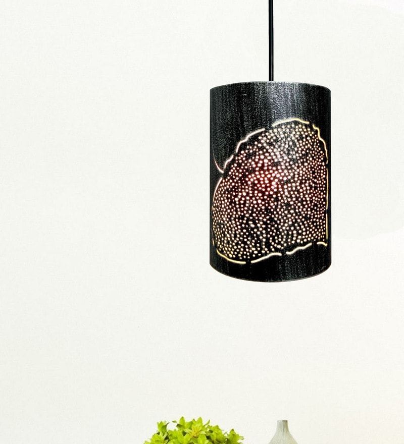 Silver Iron Pendant by Design Villa