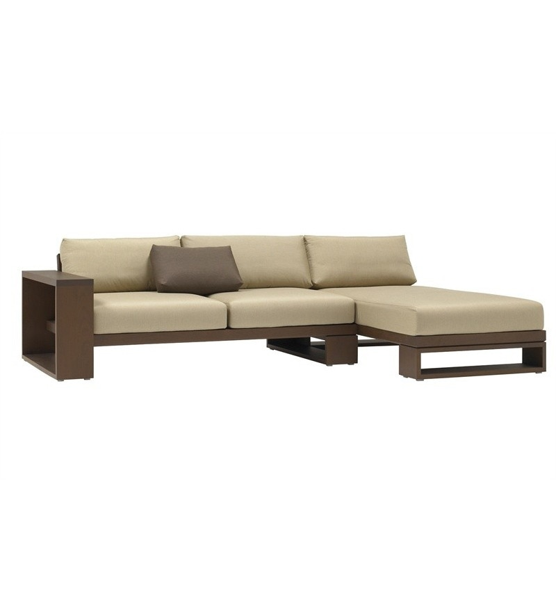 Designer L Shaped Swiss Sofa Right Side By Furny Online