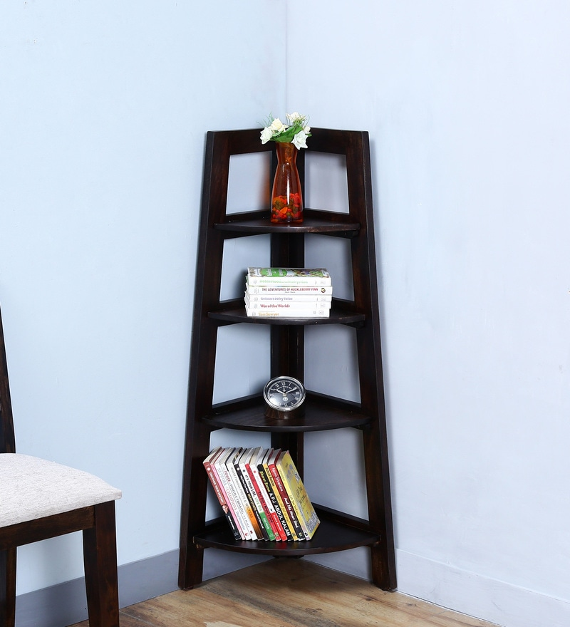 Detroit Display Unit in Warm Chestnut Finish by Woodsworth