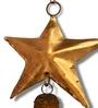 Gold Metal Star Ghantada by De Kulture Works