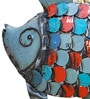 Multicolour Recycled Iron Fish Figurine By De Kulture Works