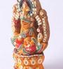 Decardo Multicolour Clay Laxmi Ganesh Statue