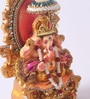 Decardo Multicolour Clay Laxmi Ganesh Statue