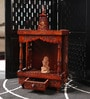 Decorhand Maroon Wooden Temple