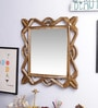Decorhand MDF Golden Mirror