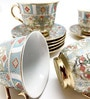 Devnow Richmond Bone China 180 ML Cup & Saucer - Set of 6