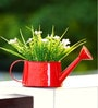 Deziworkz Garden Therapy Hanging Watering Can Red