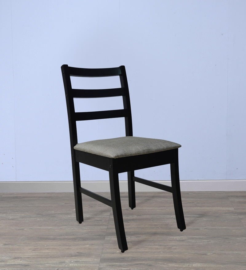 Dining Chair in Wenge Finish by Crystal Furnitech