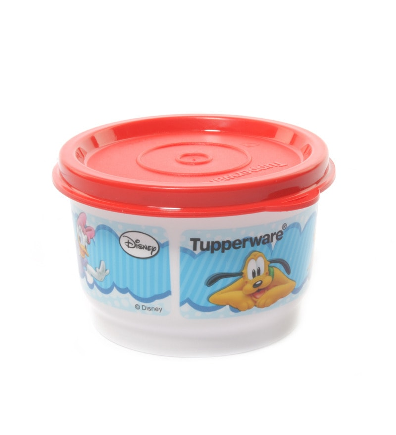 Buy Tupperware Blue Disney Snack Cups With Lids Set Of 4