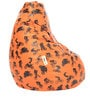 Digital Printed XL Bean Bag Cover without Beans with Bikes Design by Can