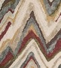 Multicolour Polyester 60 x 35 Inch Surge Area Rug by Divine