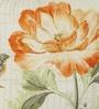 Multicolour Cotton 18 x 18 Inch Humming Bird Cushion Cover by Diwa Home