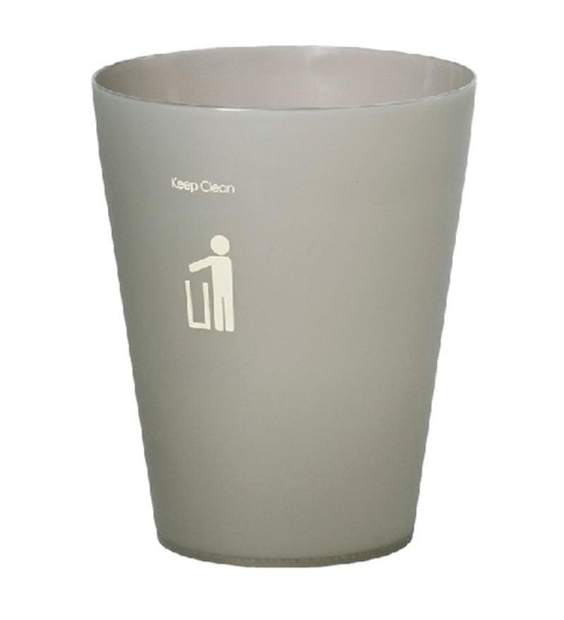 Dkw Smoke Grey 4.5 L Trash Can