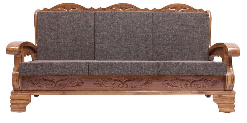 Buy Downing Teak Wood Sofa Set 3 1 1 Seater In