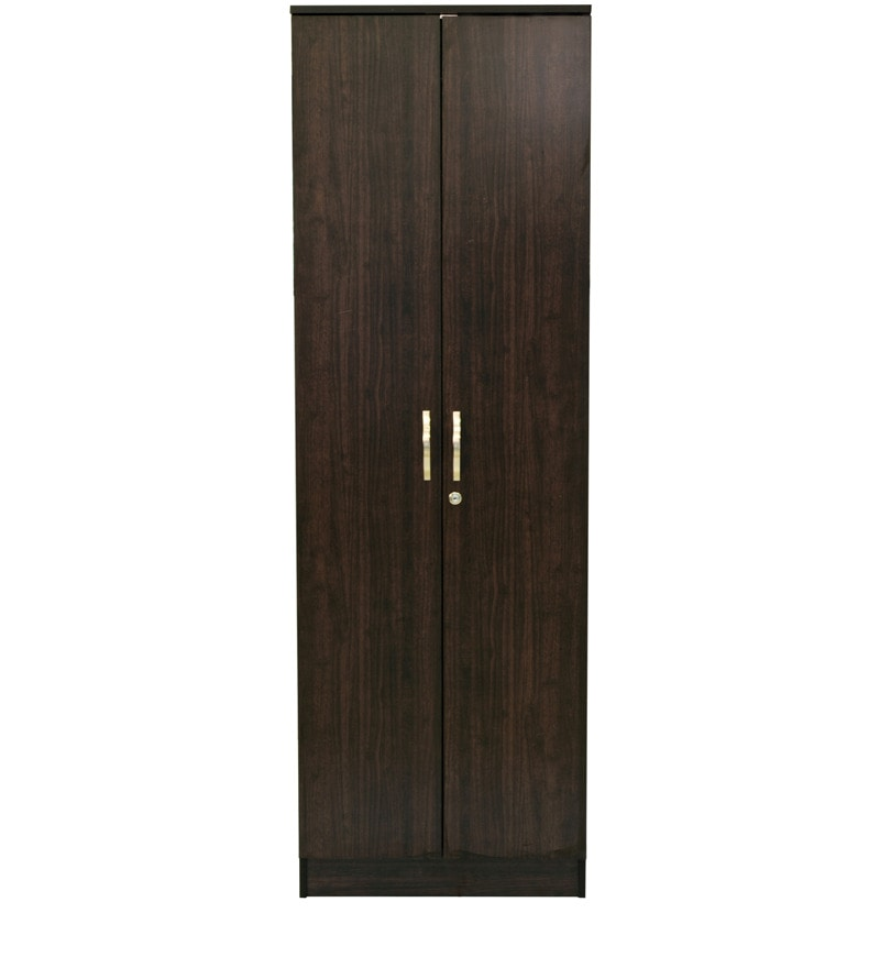 Buy Takuma Two Door Wardrobe in Wenge Finish by Mintwud ...