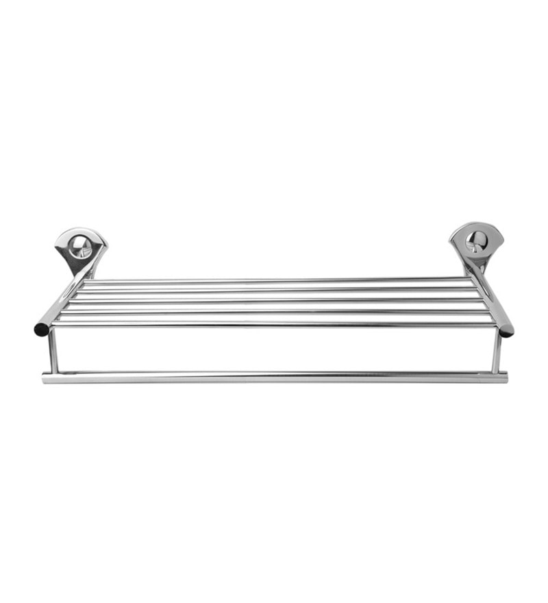 Doyours Glossy Stainless Steel Towel Rack