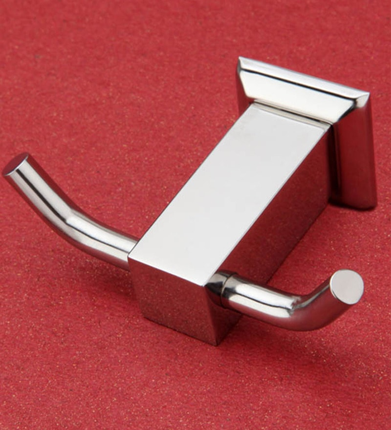 Doyours Glossy Stainless Steel 3.1 inch Robe Hook