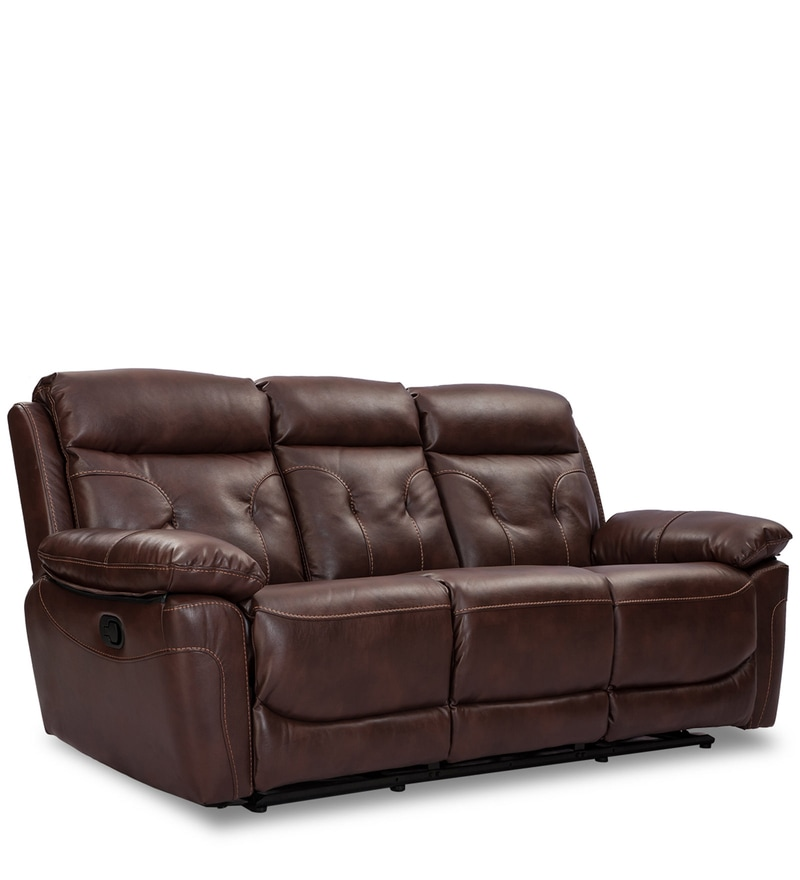Prime Buy Jameson 3 Seater Recliner In Beige Colour By Durian Evergreenethics Interior Chair Design Evergreenethicsorg