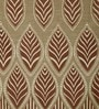 Brown Poly Cotton 84 x 48 Inch Abstract Door Curtains - Set of 2 by Dreamscape