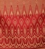 Red Poly Cotton 84 x 48 Inch Door Curtains - Set of 2 by Dreamscape
