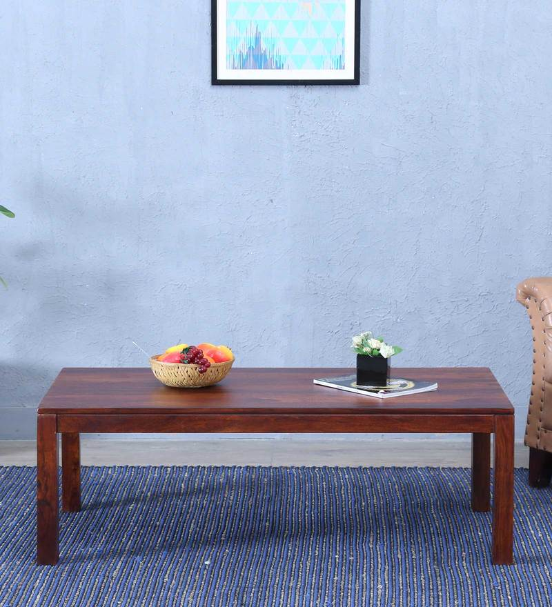 Duvall Coffee Table in Honey Oak Finish by Woodsworth