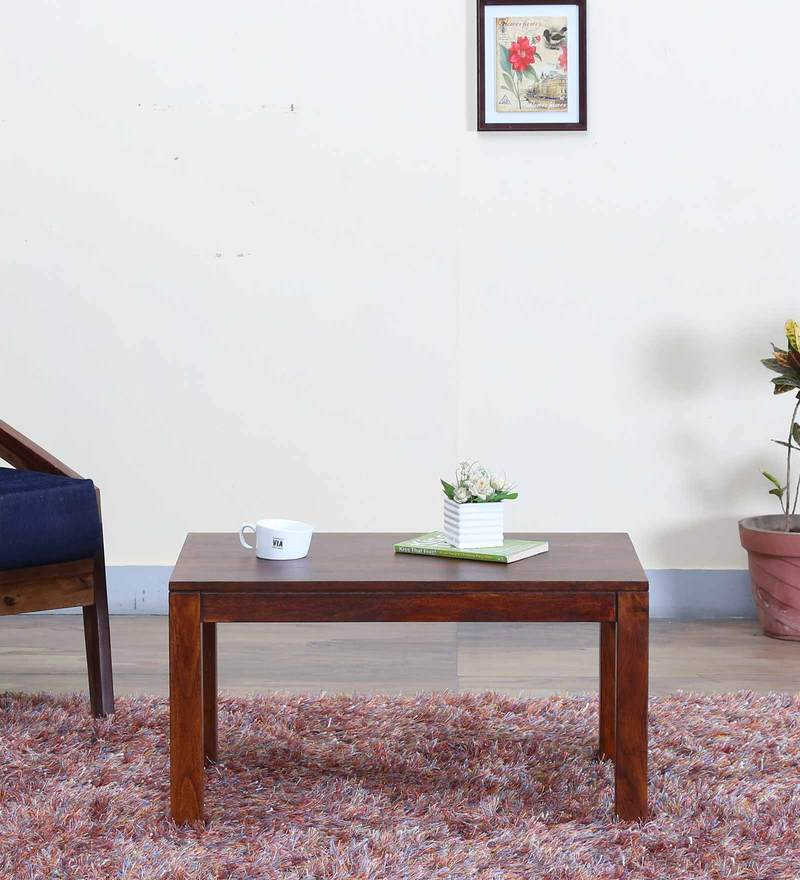 Duvall Small Coffee Table in Provincial Teak Finish by Woodsworth