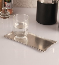 Dynore Stainless Steel Serving Tray, Set Of 3